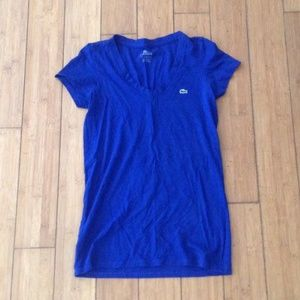 Lacoste Royal Blue Tee